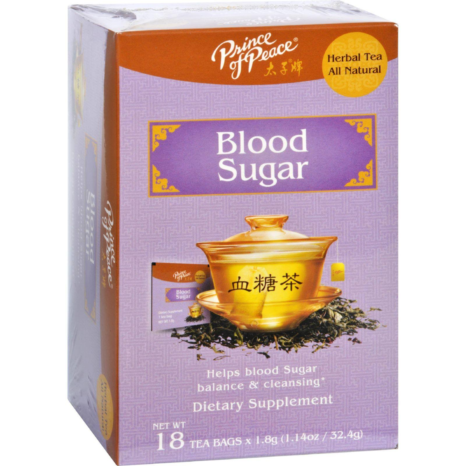 Prince of Peace Blood Sugar Herbal Tea - 18 Bags