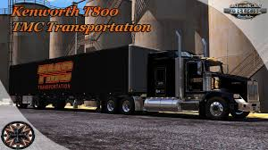100 Tmc Trucks American Truck Simulator GTM Kenworth T800 TMC Transportation