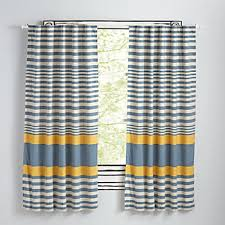 Yellow And White Curtains For Nursery by Kids Curtains Bedroom U0026 Nursery The Land Of Nod