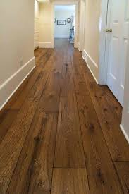 The Olde World Look Has Been Growing Steadily In Popularity And Our Wide Plank Livesawn White Hardwood Floor