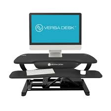 Varidesk Pro Plus 48 by Versadesk Compared To Varidesk Ceos Choose Push Button Electric