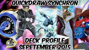 Marik Structure Deck Ebay by Quickdraw Synchron Deck Profile September 2015 Post Structure