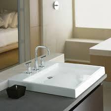 Kohler Overmount Bathroom Sinks by Bathrooms Design Kohler Sink Trough Bathroom Sinks Racks Riverby