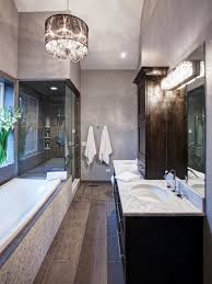 Chandelier Over Bathroom Vanity by Bathroom Vanity Lighting Ideas And Pictures Eva Furniture