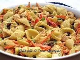 la fille de l anse aux coques salade de pâtes et poulet au curry