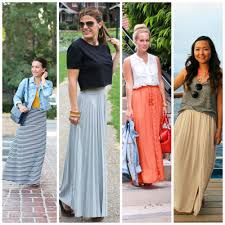 with maxi skirts archives la petite pear