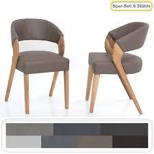6x stuhl alani 1 varianten polsterstuhl esszimmerstuhl massivholzstuhl
