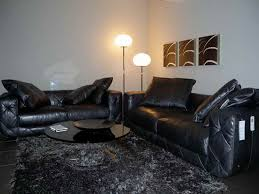 Black Leather Couch Decorating Ideas by Favorite Black Leather Furniture Living Room Ideas Designs Ideas