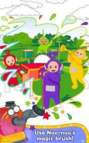 Teletubbies Paint Sparkles Screenshot 1 2