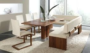 Dining Table With Bench Seats Chic Inspiration Seat