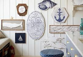 Gallery Wall Featuring Salvaged Seaside CollectionWood Decor Handcrafted In New Orleans LA Framed Rustic
