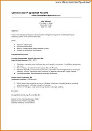 Communication Skills Resume Example Useful Examples Resumes Job Application Follow Up Letter Jb I44196