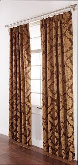 Darby Jacquard Drape Pair – Gold – Renaissance View All Curtains