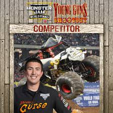 You Have To Skill Drive And Determination Win This Bring It On Monster Jam World Finals XVII Team Scooby Doo Is Ready Rock Bailey Shea