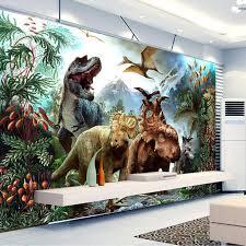nach 3d poster foto tapete 3d dinosaurier vlies