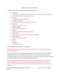 100 Define Glass House Chapter 10 Checkpoint Questions 1 Consider What Indicators