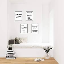 schwarz weiß edition seidel set 4 premium poster mit