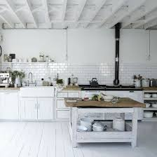 White Kitchen With Classic Features