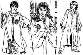 Harry Potter Ginny Coloring Page Home