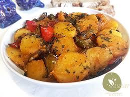 la cuisine alg駻ienne les recettes de la cuisine algérienne pommes de terre et poivrons