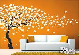 kirschblüten baum wandtattoo wohnzimmer blumen büro praxis