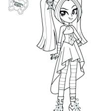 My Little Pony Equestria Girls Coloring Pages Twilight Sparkle Collection