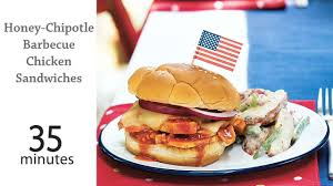 Chipotle Halloween Special 2012 by Honey Chipotle Barbecue Chicken Sandwiches Recipe Myrecipes
