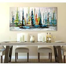 toile de cuisine peinture sur toile pour cuisine tableau peinture huile toile