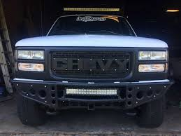 Chevy Ford Raptor Style Grill   GMT400 - The Ultimate 88-98 GM Truck ... 2015 Chevrolet 2500 Hd Beginners Luck How To Install A Phantom Billet Grill On Chevy C10 Youtube Front End Dress Up Kit With 7 Single Round Headlights 1973 2017 Silverado 1500 Status Custom Truck Accsories Cctp130501o1956chevroruckcorvettegrille Hot Rod Network Stull Overlay Grille 2006 2500hd Install Trex 2014 Grilles Available Now Stillen Garage Lifted Super Gallery Photos Mycarid 6211270 Main Laser