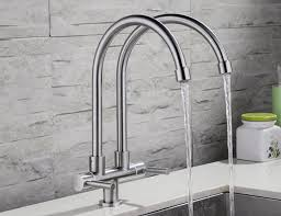 Articulating Deck Mount Kitchen Faucet by Free Shipping Lead Free Articulating Kitchen Faucet Sus 304
