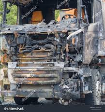 100 Burnt Truck Burned Roadside Out Drivers Cab Stock Photo Edit Now