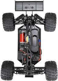 Losi: TEN-MT RTR, AVC: 1/10 4WD BLACK/GREEN: Losi (LOS03006T2)