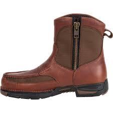 waterproof pull on side zipper work boot georgia athens