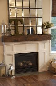 mantel with mirror did the dollar store mirror looks ok