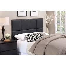 Black Leather Headboard With Crystals by Faux Leather Headboards For Less Overstock Com