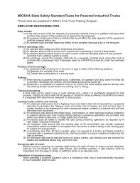 MIOSHA State Safety Standard Rules For Powered Industrial Trucks