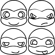Ninja Turtle Coloring Pages Printable Free Archives Best Of