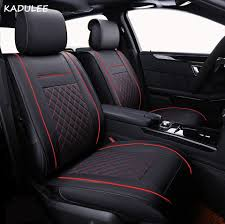 100 Car Seat In Truck US 6536 62 OFFKADULEE Cushion LinenBreathable Cover Pad Fit Most Autoside Covers For Cars Protect Front Seat And Backin