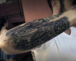 Their Love For Cars To An Entirely New Level Weve Currated A Collection Of The Hottest Most Bad Ass Automotive And Car Tattoos On Planet Enjoy