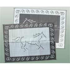 patio mats 9x12 reversible mat horse design 158202 rv