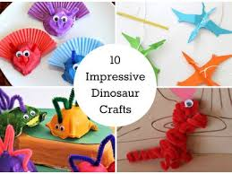 10 Easy Dinosaur Crafts You Can Make At Home Kids Tips