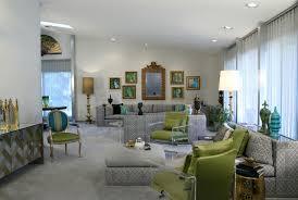 Hollywood Regency Redo Eclectic Living Room Detroit