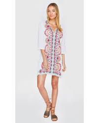 johnny was women u0027s white murray short kaftan dress country outfitter