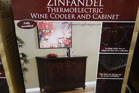 Tresanti Wine Cabinet With 24 Bottle Cooler by Tresanti Frugal Hotspot