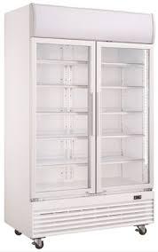 chambre froide positive metro metro fr armoire vitrée 2 portes blanche gsc1100g