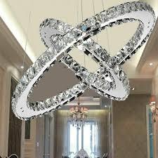 48w kristall deckenleuchte hängeleuchte kronleuchter pendelleuchte dimmbar deckenle lüster le für familienwohnzimmer flur balkon eingang
