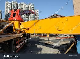 100 Concrete Pumper Truck Unusual Angle Closeup View Pump Stock Photo Edit Now