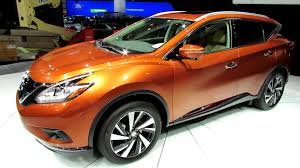2015 Nissan Murano Exterior and Interior Walkaround Debut at