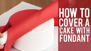 Wilton Decorator Preferred Fondant Uk by How To Cover A Round Cake With Fondant Youtube