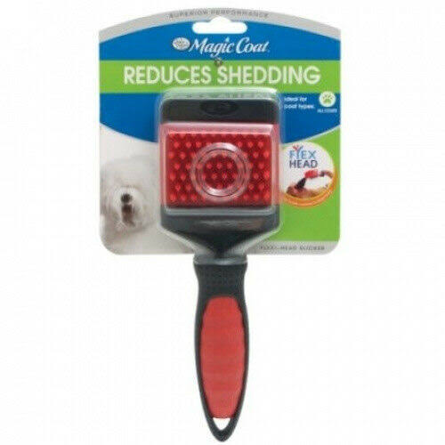 Four Paws Magic Coat Flexi Head Dog Grooming Slicker Brush
